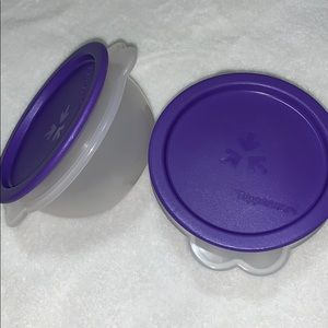 New Tupperware a Purple One Touch Containers